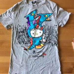 Tokidoki x hello kitty tshirt